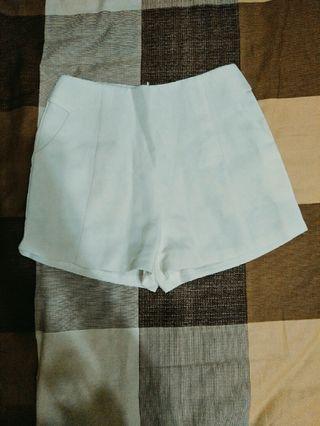 🚚 白色西裝褲