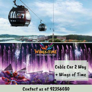 [COMBO] Cable Car Sky Pass + Wings of Time