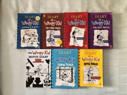 [SOLD] Diary Of A Wimpy Kid