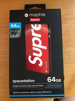 Mophie x Supreme charger and storage