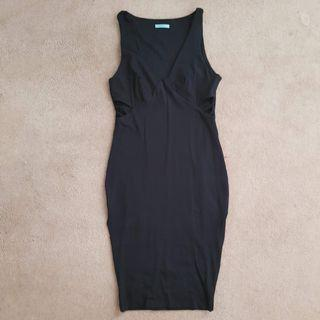 KOOKAI Black Cutout Dress Size 1