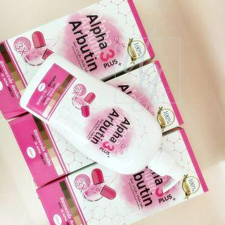 Arbutin + Collagen Whitening Body Lotion