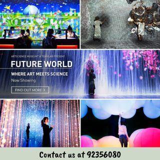 ArtScience Museum Future World