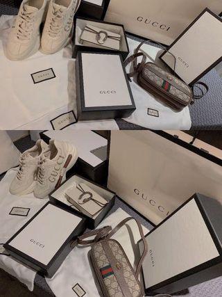 gucci shoes bag ldle sale