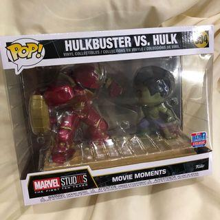 Pop Funko Disney Marvel Avengers Age Of Ultron Movie Moments Hulk Hulkbuster Armour Bro Fist Iron Man Bruce Banner Tony Stark