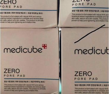 韓國Medicube 零毛孔爽膚棉Zero pore pad #MTRtst