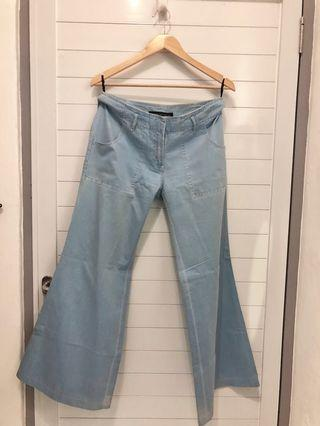 Baby Blue Flare Pants.