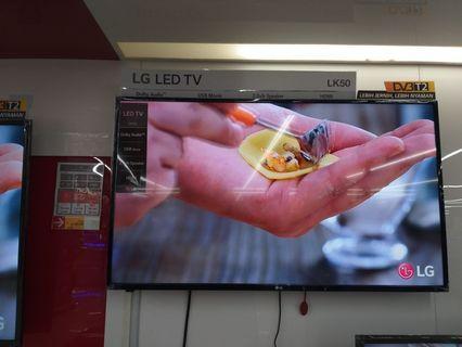 Cuma Bayar DP 620,000 BUNGA 0% LG LED TV 43 INCH