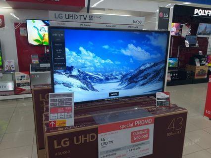 Cuma Bayar DP 800,000 LG LED SMART TV 43 INCH