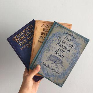 hogwarts library collection