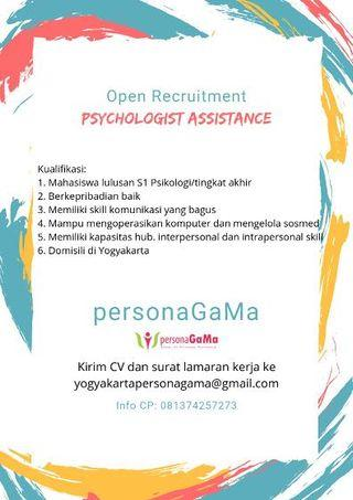 Urgently needed Psychology Assistant