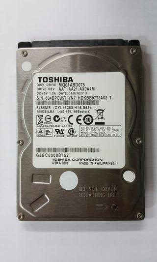 Toshiba HDD750GB