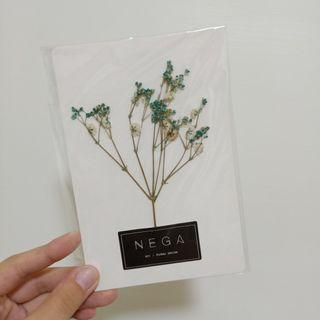 🚚 乾燥花卡片