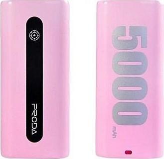 5000mAh Powerbank Remax Proda E5 In Pink