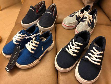 Nautica toddler slip on boy shoes 名牌美國買男童兒童鞋