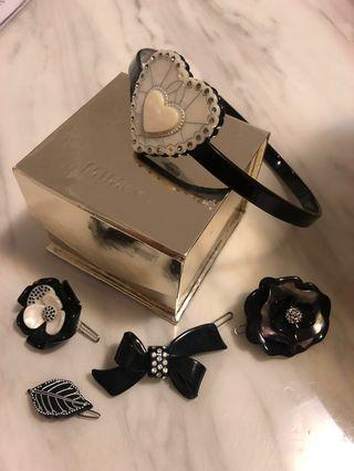 Mimco hair accessories and Mimco gift box