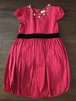BUBBLE GIRL baju pesta sz 8 warna merah