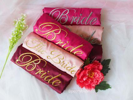 Bride Bridesmaid Robes