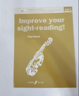 Grade 3 Violin - Improve your sight reading by Paul Harris