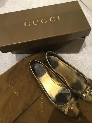 Authentic Gucci Flats 36+