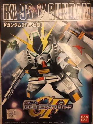BB戰士 No.209 RX-93 Nu Gundam SD Gundam 高達模型