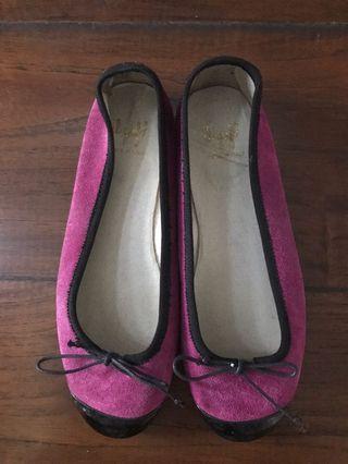 Sepatu ballerina merk Il Gufo sz 35