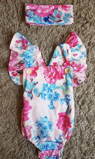 Floral Stylish Romper