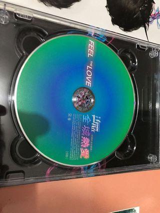 羅志祥全城熱愛Feel the love (CD+DVD)連親筆簽名