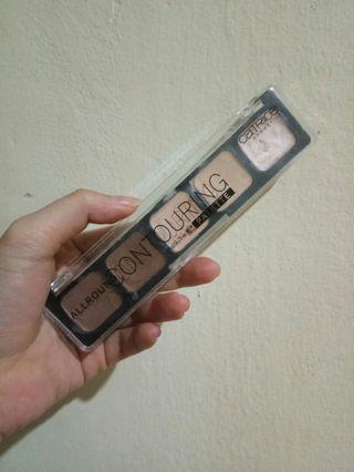 Contouring palette catrice