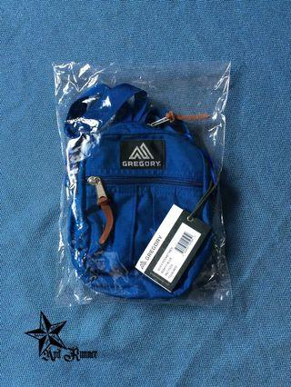 Authentic Gregory Quick Pocket Mighty Blue