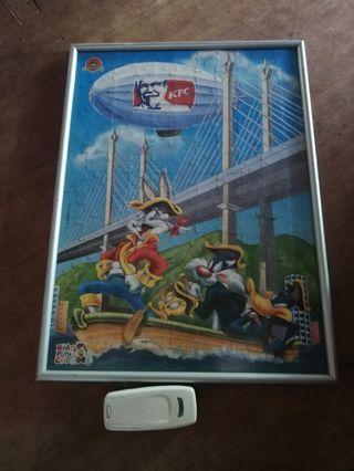 Poster puzzle kfc