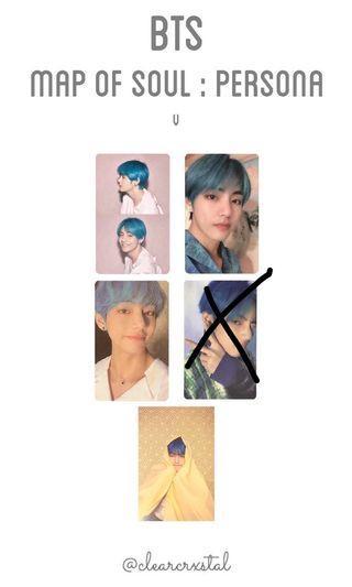 WTB LF BTS Taehyung Persona Photocard
