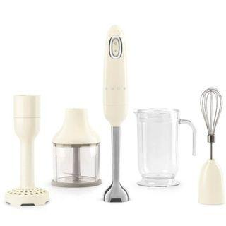 SMEG Hand Blender Cream Color with 1 Year (Singapore) Manufacturing Warranty