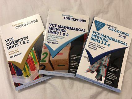 VCE Checkpoints