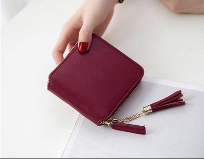 Small Short Wallet Coin Purse