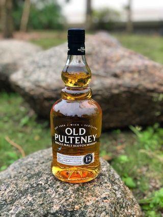 Old Pulteney 12 single malt whiskey 兩支$760