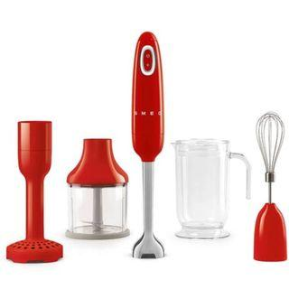 Smeg Hand Blender Red Color with 1 Year (Singapore) Manufacturing Warranty