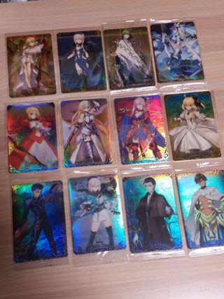 Fate/Grand Order FGO餅卡