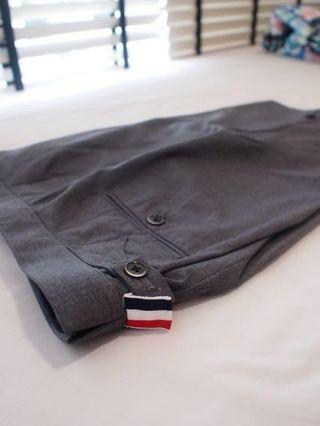 Thom Browne Classic High Waisted Shorts
