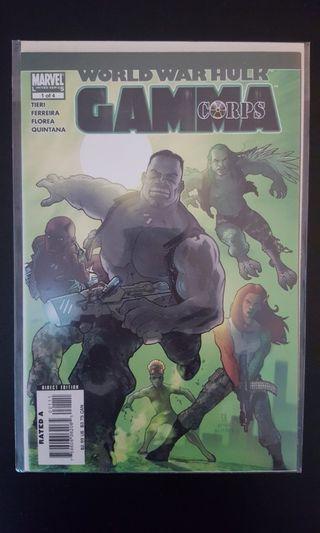 *Clearance Sale Bargain Bin Offer* World War Hulk Gamma Corps #1