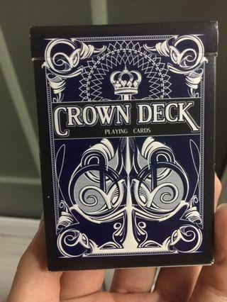 Crown deck 撲克牌
