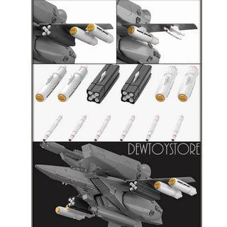 [Pre-order] Max Factory PLAMAX Minimum Factory MF-38 Macross : Do You Remember Love - VF-1 Valkyrie Armament Set Model Kit