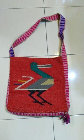 Navajo , native sling bag hand made usa