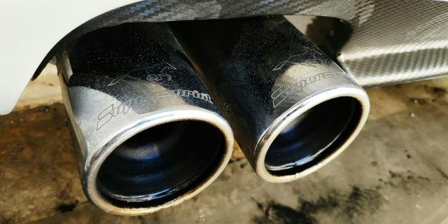 Supersprint twin Exshaust system for E36 316 ,318i , 318is