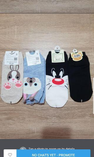 Korean Socks (4 pair/$8)