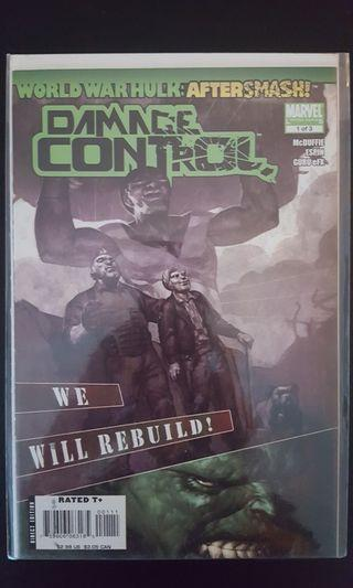 *Clearance Sale Bargain Bin Offer* World War Hulk After Smash Damage Control #1