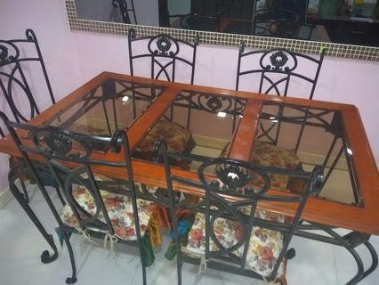 Dinning Table with Coffee Table