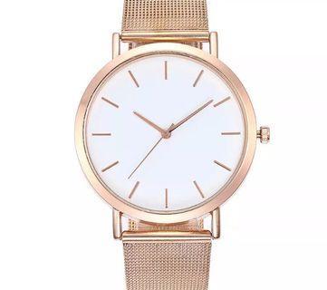 Rosegold watch / silver watch