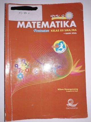 Buku pelajaran matematika peminatan kelas 12 SMA