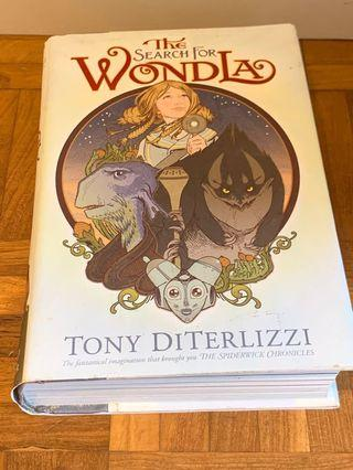The search for Wondla Tony Diterlizzi hard cover good condition